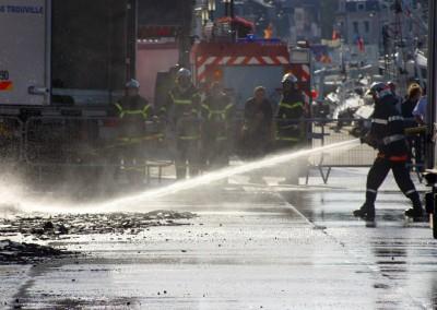 Sapeurs pompiers des bouches du Rhône